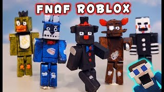 WHOA! Five Nights at Freddy's ROBLOX 2019 Bootleg Figures Unboxing!