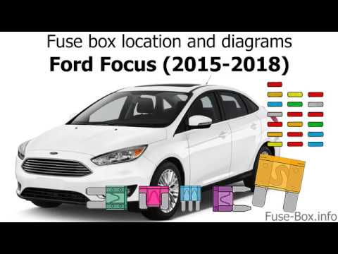 Fuse box location and diagrams Ford Focus (2015-2018) - YouTube
