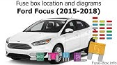 Fuse Box Location And Diagrams Ford Fusion 2013 2016 Youtube