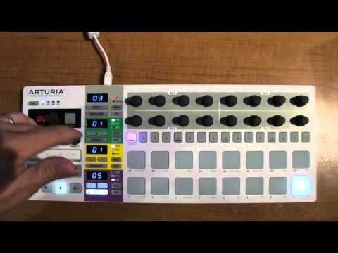 BeatStep Pro Drum sequencer