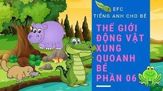 Tiếng anh cho bé - Vừa vui vừa học   Thế giới động vật quanh bé [Phần 6] - EFC