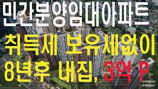 민간분양임대아파트 시세차익만 3억~4억, 8년간 취득 …