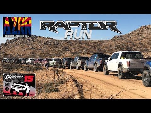 Arizona Raptor Runs Experience POV  - 2018 Racin to The Basin