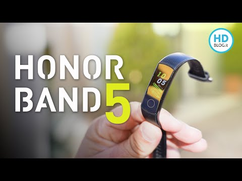 Recensione Honor Band 5: è La Miglior Smart Band Economica