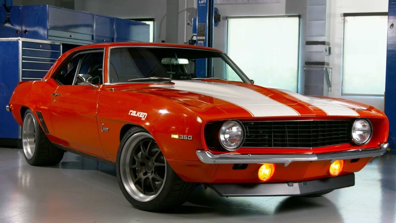 super chevy muscle car challenge | detroit speed 1969 camaro - youtube