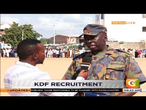 Girls left out in Garisa KDF recruitment