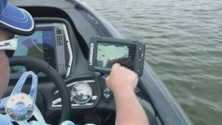 видео Lowrance Elite-5 Ti Mid/High/TotalScan