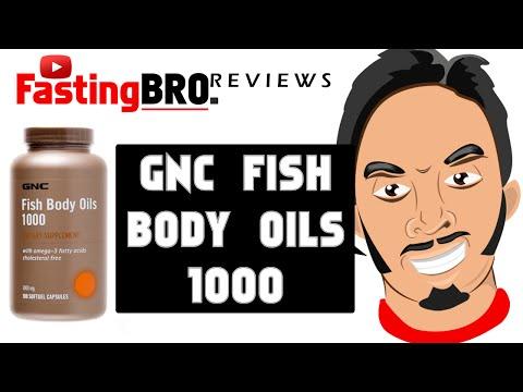 GNC Fish Body Oils 1000 | Fasting Bro Reviews - Episode 2