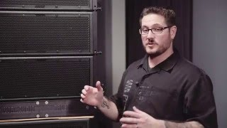 WorxAudio XL1 Line Array