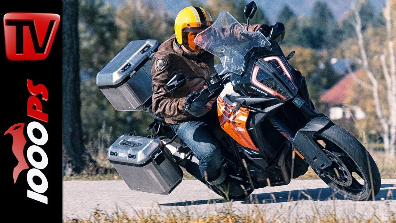 Ktm Super Adventure >> KTM 1290 Super Adventure S mit GIVI Trekker Dolomiti ...