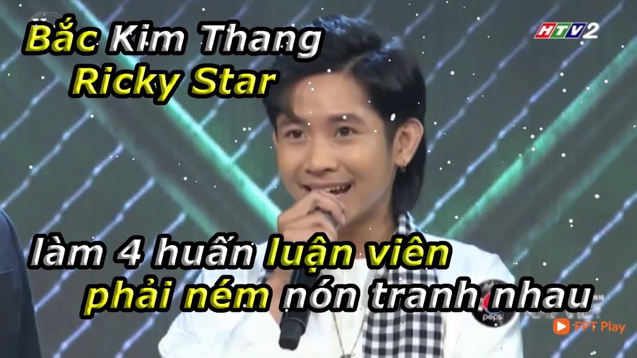 Ricky Star náo loạn tại Ráp Việt