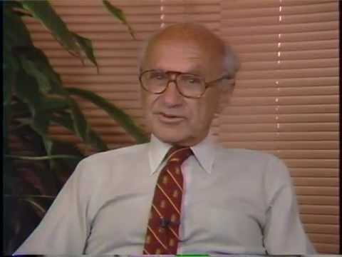 Milton Friedman PRC Interview 1987 1/4