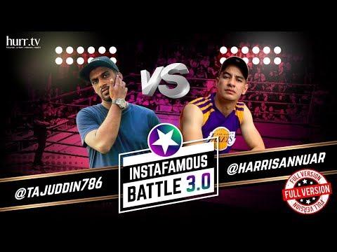 @tajuddin786 vs. @harrisannuar (Full Version) | Instafamous Battle 3.0