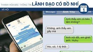 Thanh Ha bc thng tin lnh o c b nh  VTC1