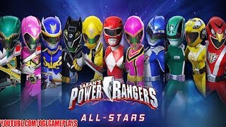 Power Rangers : All Stars Android iOS Gameplay #1 (By NEXON Company)