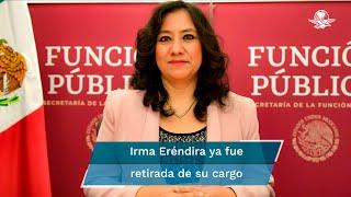 Mexicanos Contra la Corrupción y la Impunidad reveló que la exfuncionaria encargada de trabajar contra la corrupción compró pruebas Covid 3 veces más caras a una empresa sin empleados y sin experiencia