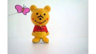 컬러링돌 도자기인형 곰…