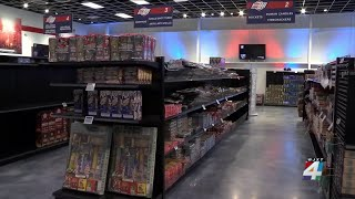 With July 4 approaching, retailers face fireworks shortage