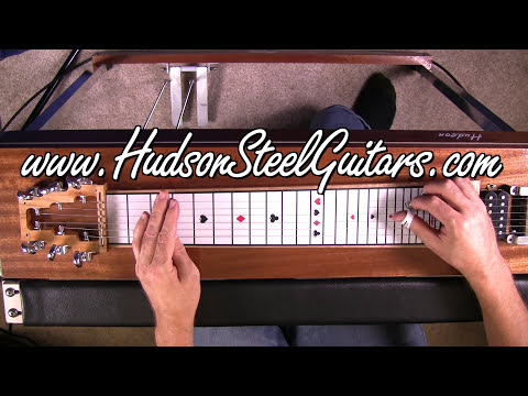 Hudson 6 String Pedal Steel Lesson/Demo - by Troy Brenningme