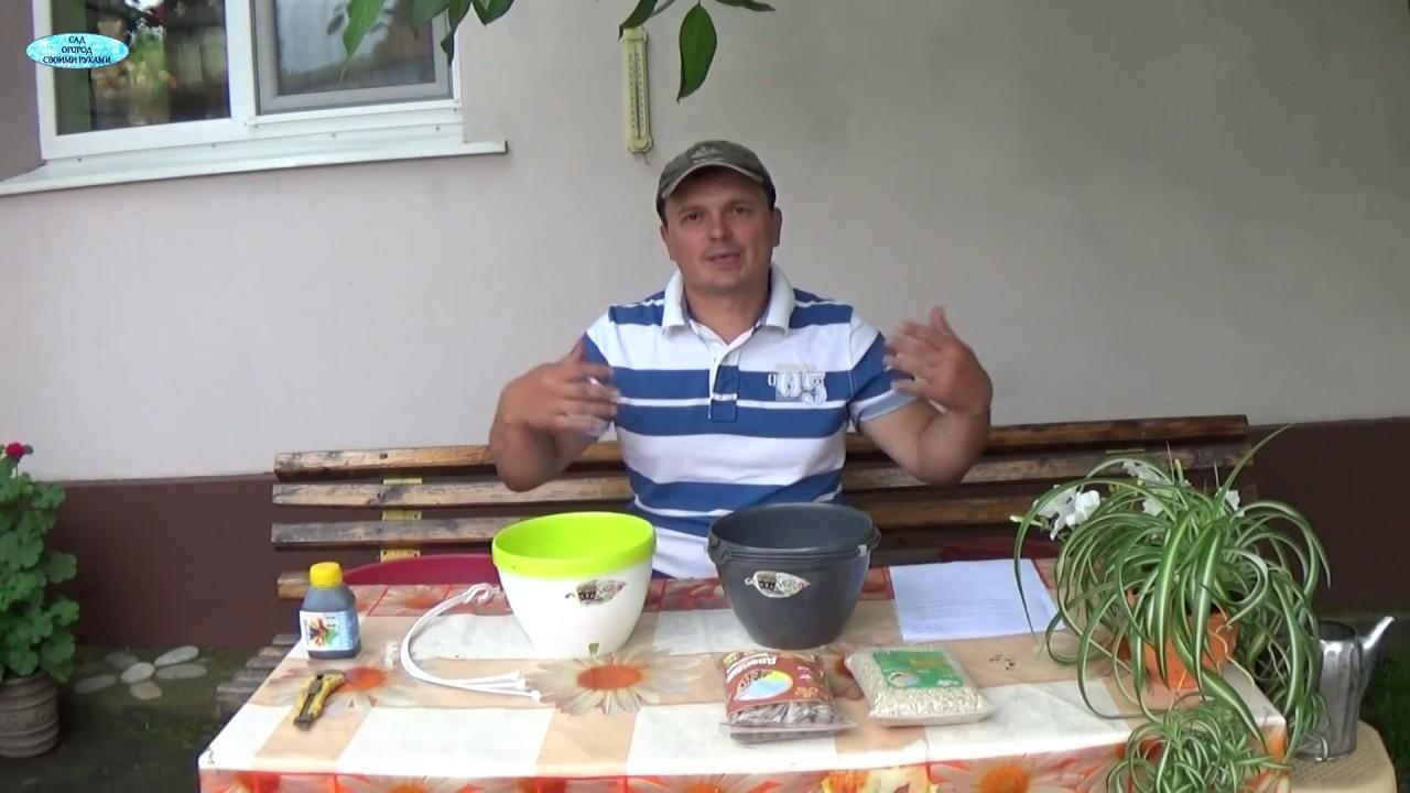 Купить горшки капилярные с автополивом | киев | интернет магазин посуды.