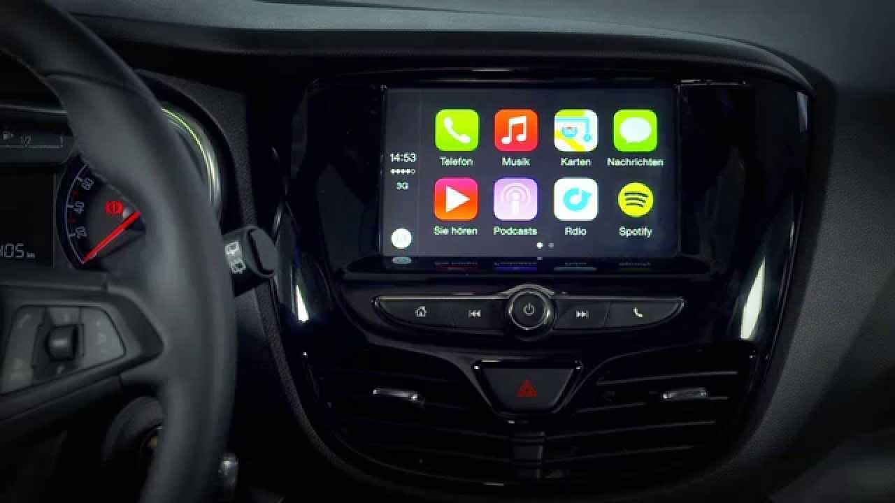 New Opel KARL Interior - YouTube