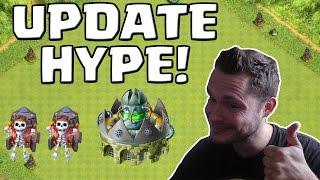 UPDATE HYPE! || CLASH OF CLANS || Let's Play CoC [Deutsch/German HD+