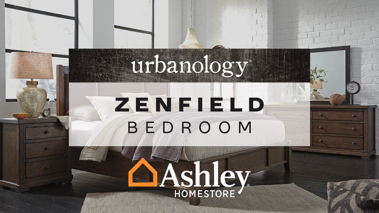 Ashley Homestore Zenfield Bedroom Youtube