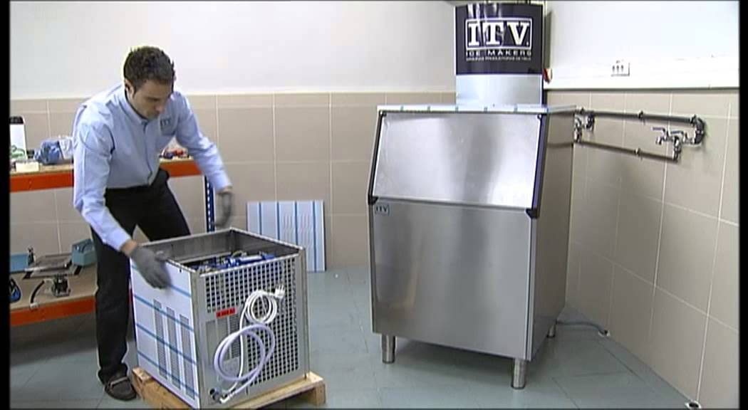 How to install an Ice Queen Machine - ITV Ice Makers