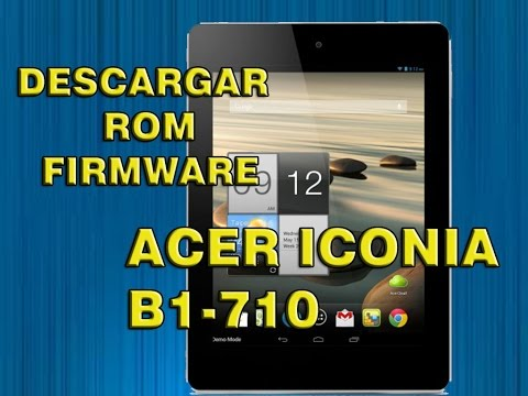 Acer Tablet Iconia One 8 B1-820 hard reset - YouTube