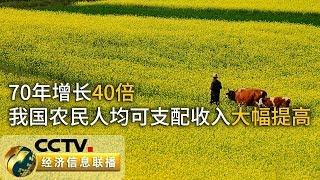 《经济信息联播》 20190927| CCTV财经