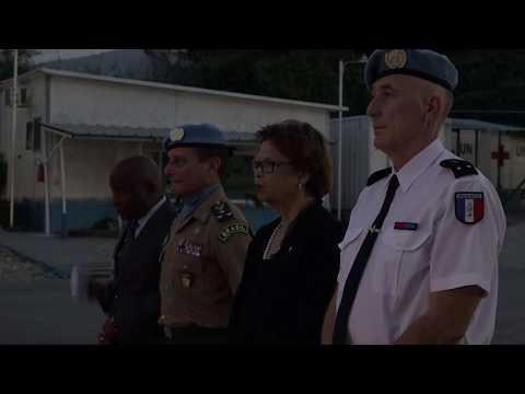 Haiti 6 October 2017 MINUSTAH Closing ceremony 1