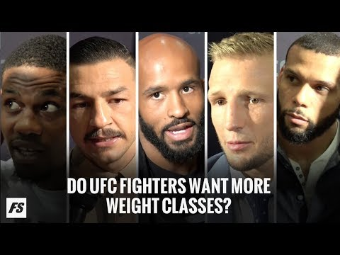 Do UFC Fighters Want More Weight Classes? - FanSided MMA