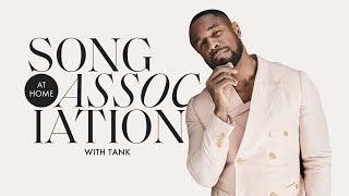 """Tank Sings Kelly Rowland, The Supremes, and """"When We"""" in a Game of Song Association 