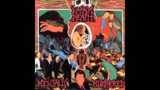 "Napalm Death - ""Mentally Murdered"" on 33RPM"