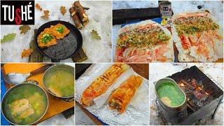 Полевая кухня: Рыбный суп (Уха) \Жареная рыба\ Шаурма(, 2016-11-27T09:53:25.000Z)
