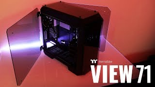 Thermaltake View 71 Tempered Glass Full Tower Chassis