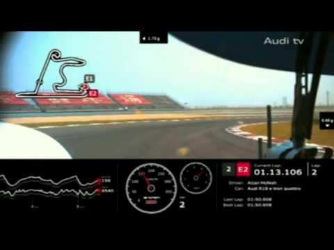 2012 WEC 6 Hours of Shanghai   #2 Audi Onboard Start