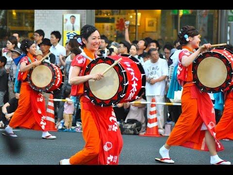 Sansa Odori - Japanese Dancing Festival of  Morioka 盛岡さんさ踊り