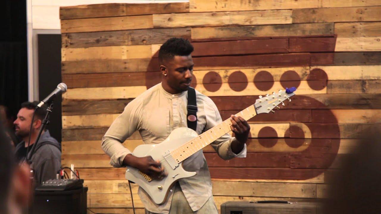 tosin abasi performs mind spun at namm 2016 youtube