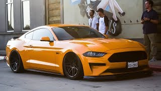Worlds FIRST BAGGED 2018 Mustang?? + Mustang SENDS IT and DOESN