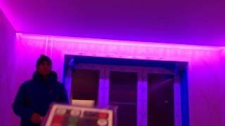 Подсветка по периметру натяжного потолка!(, 2015-03-28T08:11:26.000Z)
