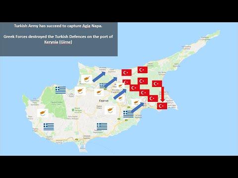 Greece VS Turkey - + Cyprus - 2026 - Scenario - Realistic