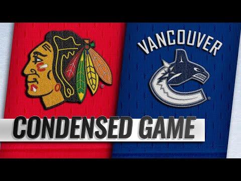 10/31/18 Condensed Game: Blackhawks @ Canucks