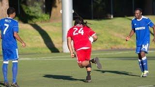 Marshawn Lynch goes full beast mode, runs ball into net thumbnail