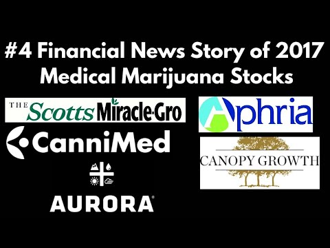 #4 Financial News Story of 2017: Medical Marijuana Stocks