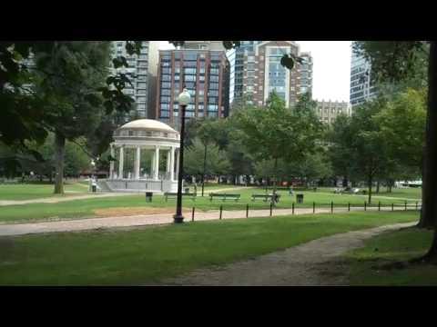 The Parkman Bandstand - Boston Common
