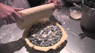 Blueberry Pie Dessert Dinner Recipe.