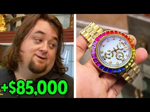 8 Times Chumlee Scammed The Customers | Pawn Stars