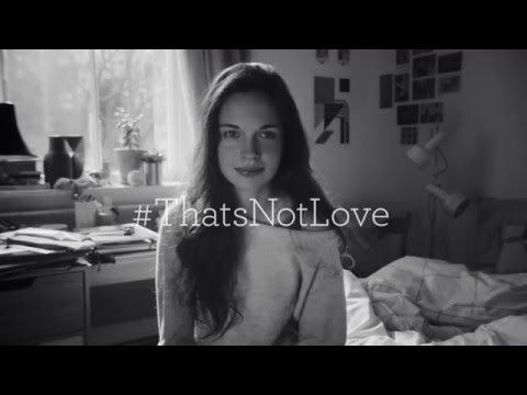 #ThatsNotLove campaign | Asterisk - I'm Sorry | One Love Foundation