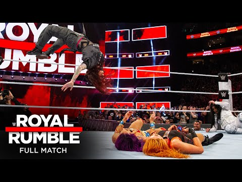 FULL MATCH - 2018 Women's Royal Rumble Match: Royal Rumble 2018